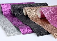 "کیفیت خوب ماده تلخ & Spandex Fancy Sparkle Glitter Fabric 54 ""Width For Shoes And Bow مو حراج"